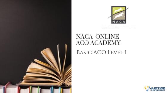 NACA ACO I and NACA 1 Year Membership