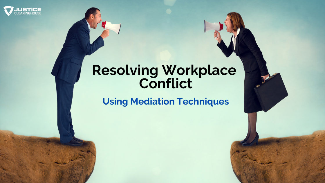Resolving Workplace Conflict Banner